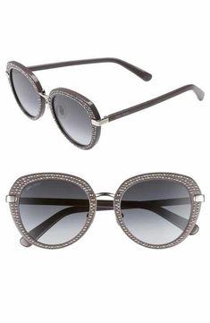 134187a1cc9 Jimmy Choo Moris 52mm Oversize Sunglasses