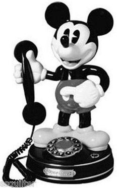 Buy this Vintage Mickey Mouse phone.(though i moat like wont have a house phone lol Mickey Mouse Phone, Mickey Mouse E Amigos, Minnie Mouse, Mickey Mouse Club, Mickey Mouse And Friends, Disney Fan, Disney Love, Disney Magic, Disney Stuff