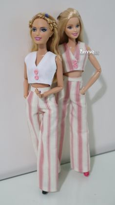 Sewing Barbie Clothes, Barbie Clothes Patterns, Clothing Patterns, Diy Clothes, Barbie Mode, Barbie Family, Beautiful Barbie Dolls, Barbie Fashionista, Evening Outfits
