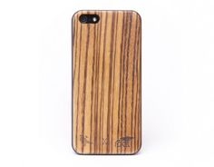 Zebra wood iphone 5 case - after August 2013 (when I have an iPhone 5)