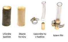 Vodní filtr z větvičky - filtruje až 4 litry denně a zbaví vodu prý až 99% bakterií