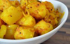 vollwert-blog.de | Scharfer arabischer Kartoffelsalat