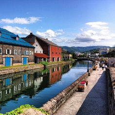 小樽運河 Otaru Canal on 25 Jun 15 Japan Travel Guide, Travel Tours, Asia Travel, Travel Around The World, Around The Worlds, Otaru, Kobe Japan, All About Japan, Sapporo