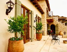 Today Mediterranean homes are typically constructed with a stucco exterior, have shallow often red tiled roofs that create a wide overhang for needed shade ...