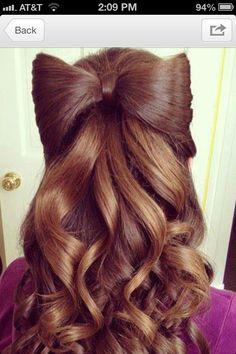 Amazing hair style!(: