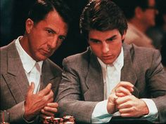 1988 - 'Rain Man' | Dustin Hoffman, left, won for best actor playing Tom Cruise's brother. By Stephen Vaughan, United Artists