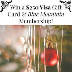 Win a $250 Visa Gift Card & Blue Mountain Membership