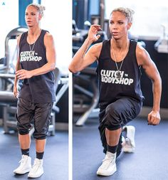 Ashley Conrad's High-Intensity Leg Circuit Workout - Bodybuilding.com Yes!!!! Love her!!