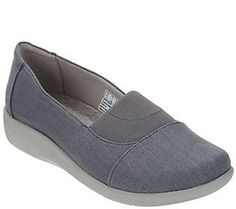 Clarks Cloud Steppers Slip-on Shoes - Sillian Sune
