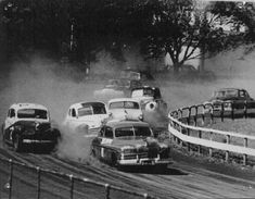 NASCAR before everyone had to race the same car.