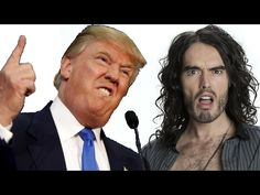 Donald Trump vs Russell Brand - Trew World Order Tour Russell Brand, Speak The Truth, Stand Up, Love Him, I Laughed, Donald Trump, Hilarious, Politics, Tours