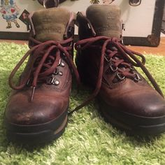 Timberland Leather Euro Hiking Boots Got the wrong size, only used once and great condition Timberland Shoes