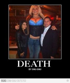 If that woman is real, then it could really happen like in Futurama.