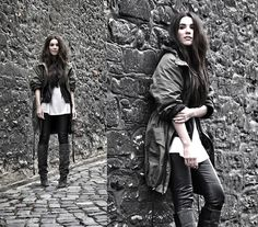 Get this look: http://lb.nu/look/3010199  More looks by COTTDS Cindy van der Heyden: http://lb.nu/cottds  Items in this look:  H&M Parka Coat