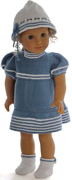 Modèles de tricot pour les poupées - Superbes vêtements d'été pour votre poupée fille et votre poupée garçon