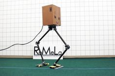 These two wacky walking robots may pave the way for future locomotion
