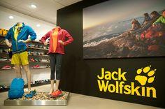 New showroom #JackWolfskin @SBCleusden