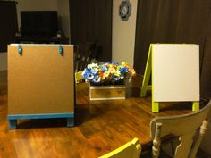 Kid's whiteboard easel: You can make it too!
