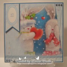 Bebunni from Crafter's Companion: Bebunni #Christmas Topper Companion from CD, Core'dinations, Sentiment from CD