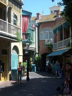 Disneyland Travel: No., So alley New Orleans