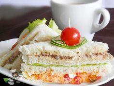 Nigerian Salad Sandwich, (club Sandwich) by  nigerian food tv recipes