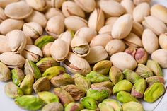 Pistachio nuts are not only tasty and fun to eat but also super healthy. These edible seeds of the Pistacia vera tree contain health. Pistachio Health Benefits, Pistacia Vera, Lower Ldl Cholesterol, Healthy Fats, Smoothie, Pasta, Shells, Vigan, Healthy Snack Recipes