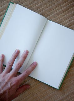 green handmade journal // hard bound journal by ericmbaral on Etsy, $23.00