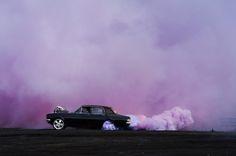 Simon Davidson's Burnout Series Captures Australian Drag Racing The Tatami Galaxy, Dominic Toretto, Raw Color, Lilac Sky, Purple Haze, Haruhi Suzumiya, Saints Row, Young Avengers, Photoshop