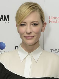Hair and makeup: Cate Blanchett