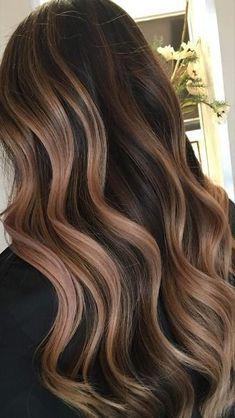 Straight Brunette Hair, Blonde Hair For Brunettes, Brunette Hair Color With Highlights, Medium Brunette Hair, Brown Hair Balayage, Brown Blonde Hair, Balayage Brunette, Red Hair, Black Hair