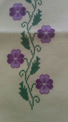 Cross Stitch Bird, Cross Stitch Borders, Cross Stitch Flowers, Cross Stitch Patterns, Crochet Patterns, Crochet Bedspread, Embroidery Stitches, Needlework, Modern Cross Stitch