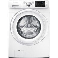 Samsung ft High Efficiency Stackable Front-Load Washer (White) ENERGY STAR at Lowe's. This Samsung front load washing machine helps you save time by fitting more into each load. Its Diamond Drum is gentle on your clothes to help them last Samsung Washer, Samsung 8, Stainless Steel Drum, Stackable Washer And Dryer, Gas Dryer, Clean Technology, Front Load Washer, White Appliances, House Appliances