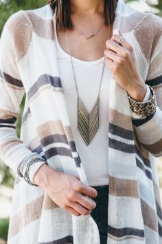 CHEVRON NECKLACE - When you Purchase with Purpose® the lives of young women rescued from modern day slavery are transformed.