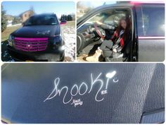 Snooki sells pink-on-black Cadillac for $ 77,510 on eBay.