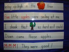 Apple Unit @ lilteacher.com - great apple activities