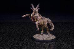 Screaming Antelope painted by Jay Adan