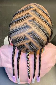 Little Girls Natural Hairstyles, Cute Toddler Hairstyles, Black Kids Hairstyles, Black Girl Braided Hairstyles, Children Hairstyles, Little Girl Box Braids, Little Girl Braid Styles, Kid Braid Styles, Hair Styles