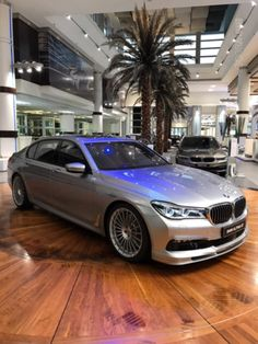 ALPINA B7 in Pure Metal Silver with Tartufo Brown interior - http://www.bmwblog.com/2017/02/27/alpina-b7-in-pure-metal-silver-with-tartufo-brown-interior/