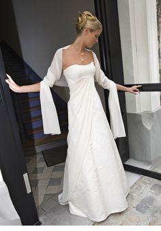 Robe Olivier Portais - Douce simplicité J'aime le style de la robe... et probablement moins chaud que ce que tu as essayé...