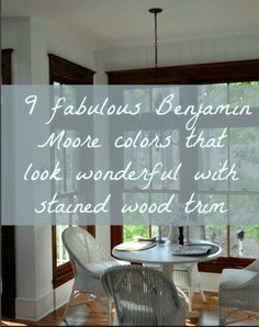 The Stained Wood Stays. What Paint Colors Will Go With It? Laurel Home