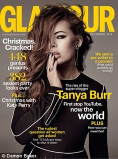 On sale Monday: Read about Tanya's vlogging voyage in the December issue of Glamour...
