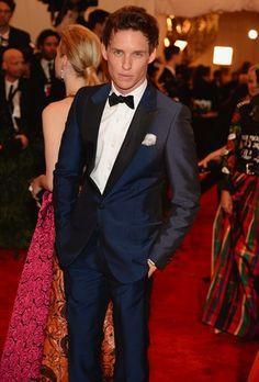 Eddie Redmayne, Dior, Met Ball