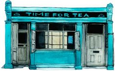 Time for Tea, Shoreditch High St (from the wonderful Spitalfields Life)