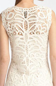 BCBG crochet lace dress