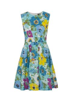 Emily and Fin Bright Multi Floral Lucy Dress