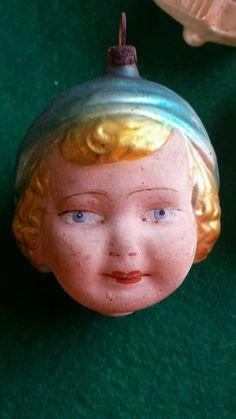 VINTAGE BLOWN GLASS ORNAMENT GERMANY GOLDILOCKS  | eBay