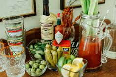 Bloody Mary Bar Essentials - The Southern Source