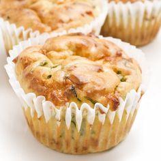 Muffins aux deux bries