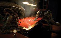 Aliens Vs Predator Wallpaper » WallDevil - Best free HD desktop and mobile wallpapers