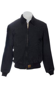 Carhartt® Black Duck Quilted Flannel-Lined Sandstone Santa Fe Jacket